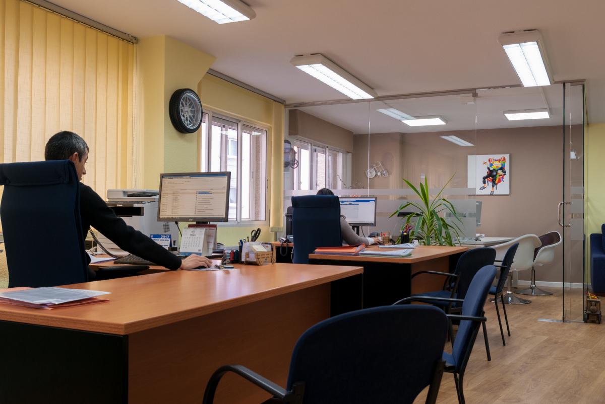 Interior Seguros Nubeiro. Lugo. Su empresa de seguros de confianza